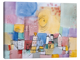 Canvas print  German city - Paul Klee