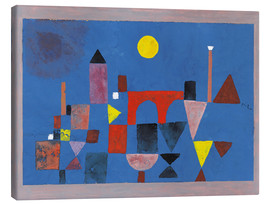 Canvas print  Rode brug - Paul Klee