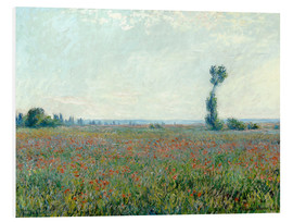 PVC print  Field with poppies - Claude Monet