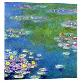 Acrylglas print  Waterlelies - Claude Monet