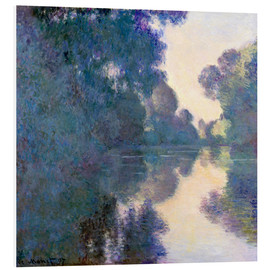 PVC print  Morning on the Seine - Claude Monet