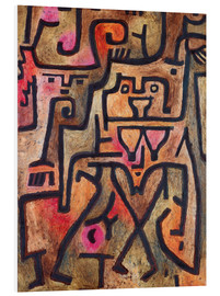 PVC print  Forest witches - Paul Klee