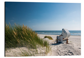 Aluminium print  Betoverende duinen op Sylt - Reiner Würz