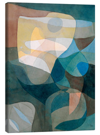Canvas print  Lichtbreitung I - Paul Klee