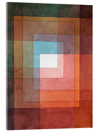 Acrylglas print  White framed polyphonically - Paul Klee