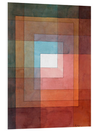 PVC print  White framed polyphonically - Paul Klee