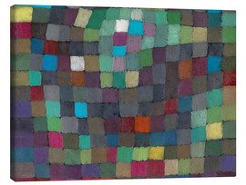 Canvas print  May Picture - Paul Klee