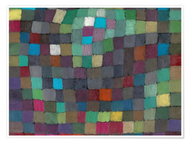 Premium poster  May Picture - Paul Klee