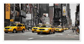 Premium poster Taxi's in New York