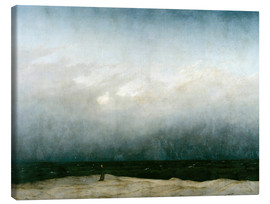 Canvas print  Monnik aan zee - Caspar David Friedrich