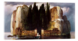 Acrylglas print  The Isle of the Dead - Arnold Böcklin