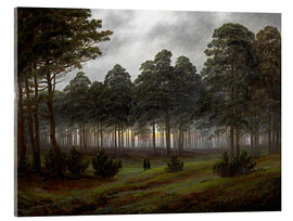 Acrylglas print  Evening - Caspar David Friedrich