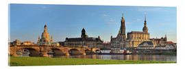 Acrylglas print  Dresden Canaletto view - FineArt Panorama