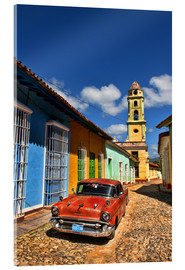 Acrylglas print  Old Chevy in Trinidad - Bill Bachmann