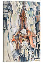 Canvas print  The Eiffel Tower - Robert Delaunay