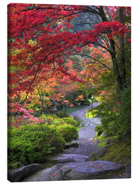 Canvas print  Path at Japanese Garden - Janell Davidson