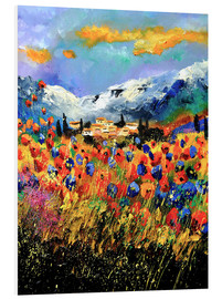 PVC print  Field with wildflowers - Pol Ledent