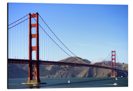 Aluminium print  Golden Gate Bridge - Jim Goldstein
