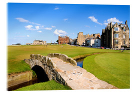 Acrylglas print  Golf course in St. Andrews - Bill Bachmann