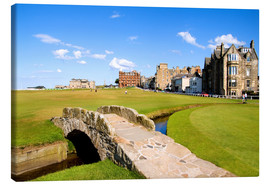 Canvas print  Golf course in St. Andrews - Bill Bachmann