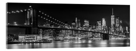 Acrylglas print  New York City Skyline - Melanie Viola
