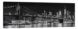 Canvas print  New York City Skyline - Melanie Viola