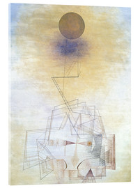 Acrylglas print  Bounds of the intellect - Paul Klee