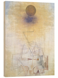 Hout print  Bounds of the intellect - Paul Klee