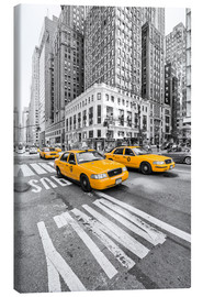 Canvas print  Yellow Taxi / Cab, New York - Marcus Klepper