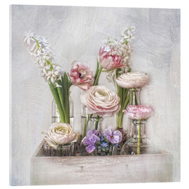 Acrylglas print  all about spring - Lizzy Pe
