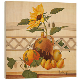 Hout print  Autumn still life - Franz Heigl
