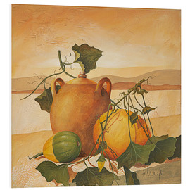 PVC print  Pumpkins and terracotta - Franz Heigl