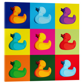 Acrylglas print  Pop art duck - coico