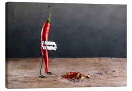 Canvas print  Simple Things - Chili Pepper - Nailia Schwarz