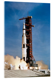 Acrylglas print  Lancering van Apollo 11 van Kennedy Space Center