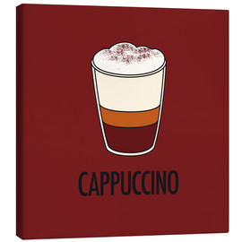 Canvas print  Cappuccino, for the italian lover in you! - JASMIN!