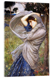 Acrylglas print  Boreas - John William Waterhouse