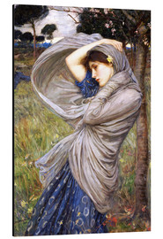 Aluminium print  Boreas - John William Waterhouse