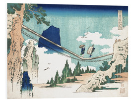 PVC print  Minister Toru, from the series Poems of China and Japan - Katsushika Hokusai