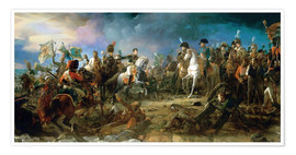 Premium poster  The Battle of Austerlitz - François Pascal Simon Gerard