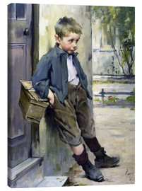 Canvas print  Out of the Game - Henri Jules Jean Geoffroy