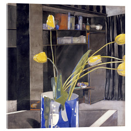 Acrylglas print  Yellow Tulips - Charles Rennie Mackintosh