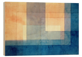 Hout print  House on the Water - Paul Klee