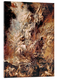 Acrylglas print  The Descent into Hell of the Damned - Peter Paul Rubens