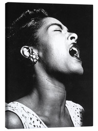Canvas print  Billie Holiday