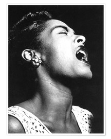 Premium poster  Billie Holiday