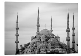 Acrylglas print  the blue mosque in Istanbul / Turkey - gn fotografie