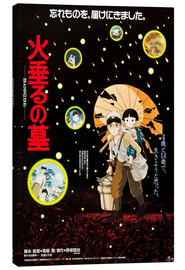 Canvas print  Grave of the Fireflies