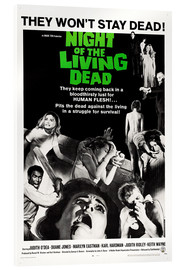 Acrylglas print  Night of the Living Dead