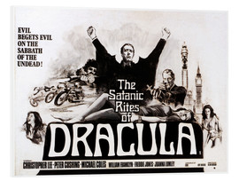 PVC print  The Satanic Rites of Dracula